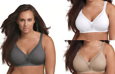 2 Pack Playtex 18 Hour Sleek & Smooth Wirefree Bras - Style 4803 - All Colors