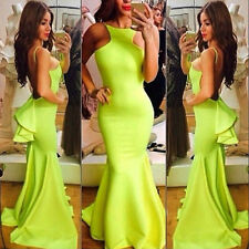 New Sexy Mermaid Prom Dresses Sleeveless Beaded Long Evening Party Gowns Custom
