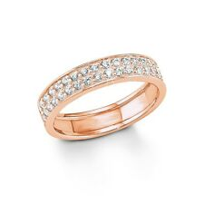 s.Oliver Jewel Damen Ring Silber rosegold Zirkonia SO1173