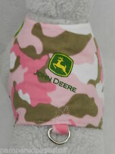 DOG CAT FERRET Custom Travel Harness~JOHN DEERE Country Cowgirl PINK Camouflage