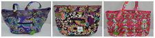 Vera Bradley Large Laptop Tote Plum Crazy Lilli Bell Heather Bag NWT