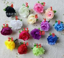 Wholesale Lot 100Pcs Roses Artificial Silk Flower Heads Home Wedding Party Decor