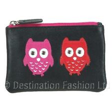 NEW* Mala Leather Ladies Kyoto Owl Coin Purse - Soft Quality Leather