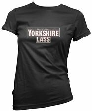 Yorkshire Lass Funny York Tea Girls Women Slim Fit T-Shirt