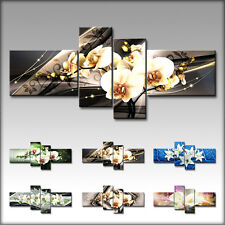 VnArtist / TOP LEINWAND XXL KUNSTDRUCK BILDER DIGITAL BLUMEN ORCHIDEE ART B4