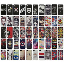 Jaccy / New Fashion For iPhone 4G 4S Plastic Leather Hard Protect Case Cover