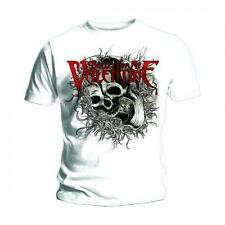 "Bullet For My Valentine ""Skull Swirlz"" Official White Men's T-Shirt. New! BFMV"