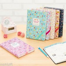 Premium Nature Journal Planner Diary Scheduler Organizer Notebook Korean Agenda