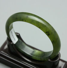 sz046 Free certificate box--54-60mm 100% Natural Chinese Jade Bangle best gift