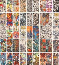 71Styles Reusable Good Quality Temporary Fake Tattoo Art Sleeve 2pcs