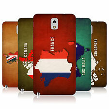 HEAD CASE FLAG MAPS BATTERY REAR COVER FOR SAMSUNG GALAXY NOTE 3 N9000