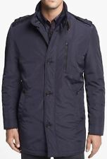 "NWT HUGO BOSS BLACK ""CONAZ1"" MENS WINTER COAT JACKET NAVY $595+ Sz US 42R/EU 52"