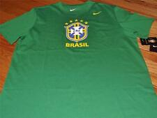 New NIKE NWT Mens T-Shirt Brazil Football Confederation Brasil CBF Soccer *K2