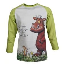 The Gruffalo Children Long Sleeve T - Shirt 83009 Boys Girl Winter Cream Neon -