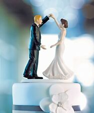 Dancing The Night Away Wedding Cake Topper WITH Custom Colors