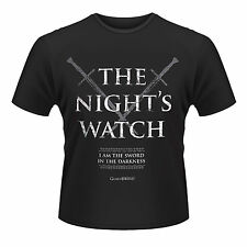 GAME OF THRONES The Night's Watch I Am The Sword In The Darkness T-SHIRT NEU