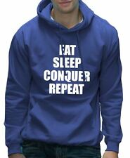 Eat Sleep Conquer Repeat Unisex WWE Hoodie - Various Colours