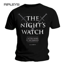 Official T Shirt Game of Thrones NIGHTS WATCH Jon Snow All Sizes