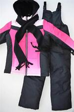 NWT Girls 5/6 6X 7/8 10/12 14/16 Ombre Dip Dye 3-Piece Snowsuit $120 Retail New