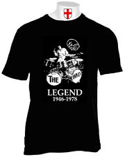 KEITH MOON T SHIRT THE WHO DRUMMER SIXTIES MOD DALTREY ENTWISTLE SCOOTERS VESPA