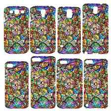 Disney Princess Alice Ariel Stained Pattern Hard Case Cover For iPhone & Samsung