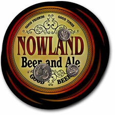 Nowland Beer and Ale Coasters - 4pak - Great Gift
