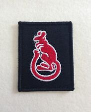 Desert Rats, 7th Armoured Brigade, Army, Military, Velcro, Badge, Patch, Black