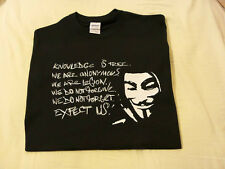 ANON Knowledge is free T-shirt Anonymous T-shirt shirt 4Chan /b/