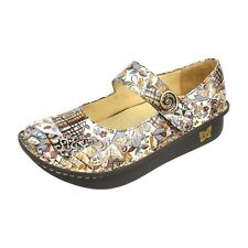 Alegria Shoes Clogs Mary Jane PAL- 395 Paloma Autumn Swirl Discount Sale NEW