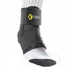 Ankle Brace Support Guard With Stabilizer Black Neoprene - Brand New XForce