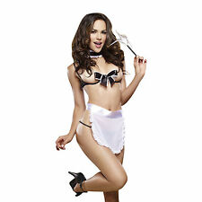 Dream Girl DG9323 Maid for Pleasure Sexy French Maid Costume, 5PC Set