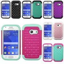 For Samsung Galaxy Ace Style S765C Hybrid Hard Diamond Case Skin Phone Cover