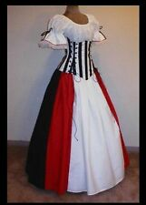 Pirate Princess Set Renaissance Medieval Costume