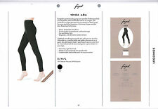 Fogal Ada, Leggings, 3 pack,tightly knitted, soft viscose, knitted rib structure
