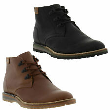 Lacoste SHERBROOKE OUTDOOR HI 2 Mens Shearling Lined Leather Chukka Boot UK 7-12