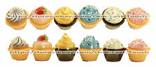 LET THEM EAT CAKE Flavored Lip Gloss CUPCAKE SHAPED New! (Uncarded) *YOU CHOOSE*