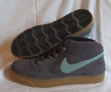 Nike Mavrk Mid 2 Mens size Shoes Grey Light Brown Skateboard Sneakers 386611 013