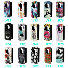 Art Window View Various Stand Leather Flip Case Cover For LG G3 F400 D850 D855