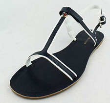 Tommy Hilfiger Womens Dark Blue Lisel Sandal Shoes Ret $49 New