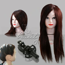 2014 Cosmetology Mannequin Manikin Training Head with 50%-100% Human Hair Comb