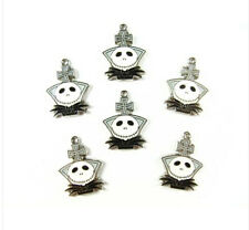New Lot nightmare before Christmas head Metal Charms Jewelry Making Pendants