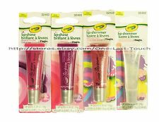 CRAYOLA Lip Gloss COLOR CHANGING SHINE+SHIMMER Squeezy FING'RS New! *YOU CHOOSE*