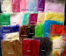 20x  MARABOU FLUFFY FEATHERS  27 Colours- 10-15cm Long - More colours in stock