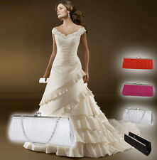 Lady Purse Women Handbag Evening Party Bag Wedding Bridal Clutch Club Purses 1pc