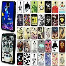 Animal Dream Catcher Painted Pattern Case Cover For Samsung S4 i9500 S5 i9600