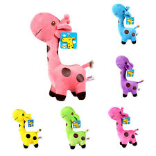 Cute Gift Plush Giraffe Soft Toy Animal Dear Doll Baby Kid Child Birthday 1pc