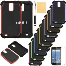 For Samsung Galaxy S2 T989 T-Mobile Rugged Armor Hybrid Hard Case Cover