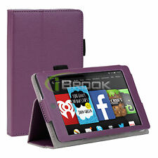 For 2014 Amazon Kindle Fire HD 6 Tablet Folio PU Leather Smart Case Stand Cover