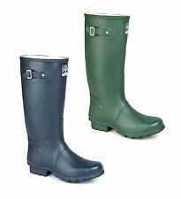 Woodland COUNTRY Mens Womens Wide Calf Waterproof Wellies Wellington Boots New