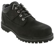 Timberland 73537 Boots Mens Sizes Waterproof Oxford Shoes Black Nubuck Leather